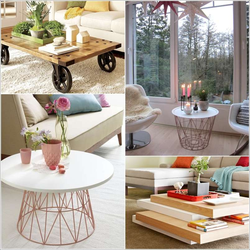 15 Awesome Diy Coffee Table Ideas For Your Living Room Interior Design Blogs