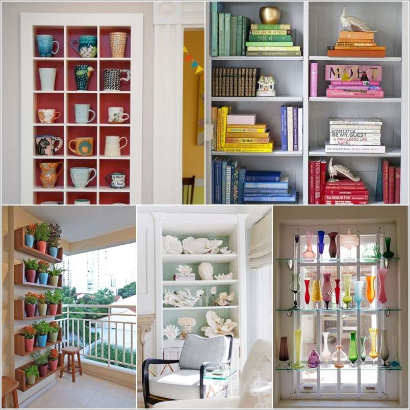 10 Cool Shelf Display Ideas For Your