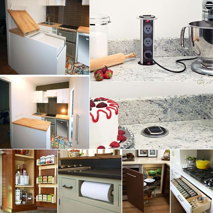 Cool Calm And Functional Kitchen: 15 Cool And Functional Ideas For Your Kitchen