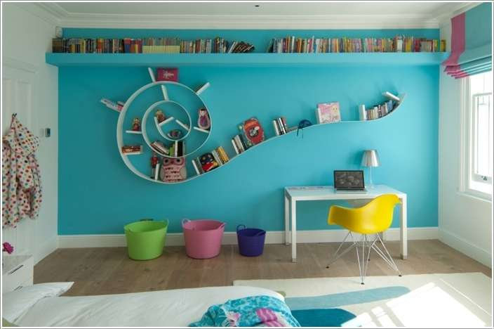 10  15 Kids' Room Accent Wall Ideas That You'll Admire 1024