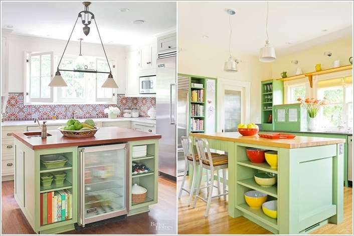 11  15 Fabulous Shelving Ideas for Your Kitchen 112