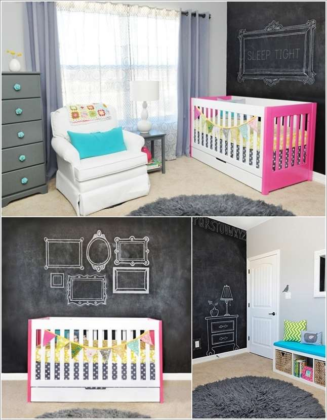 11  15 Kids' Room Accent Wall Ideas That You'll Admire 1121