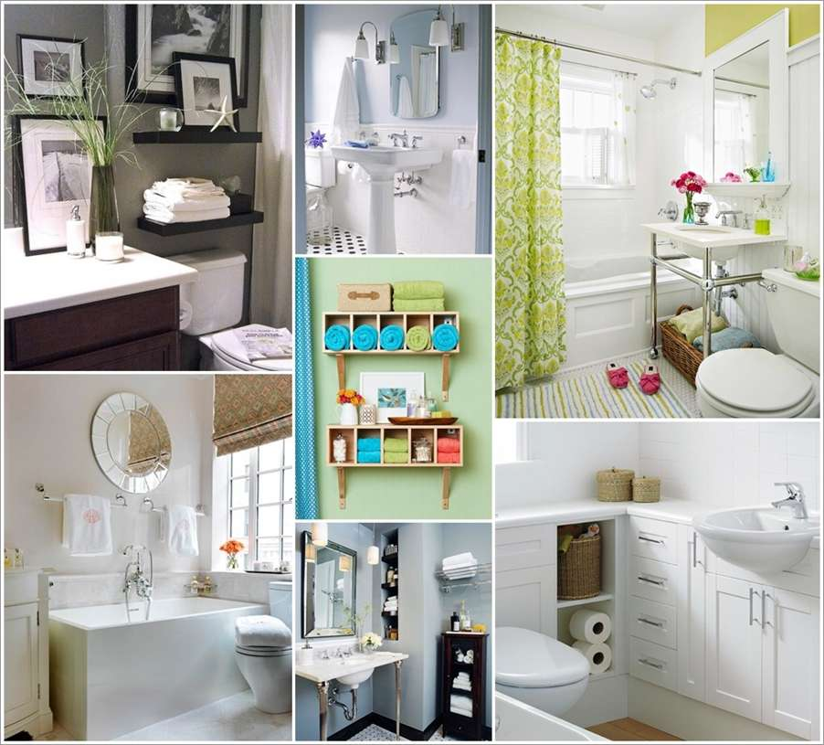 10 Big Ideas for a Small Space Bathroom