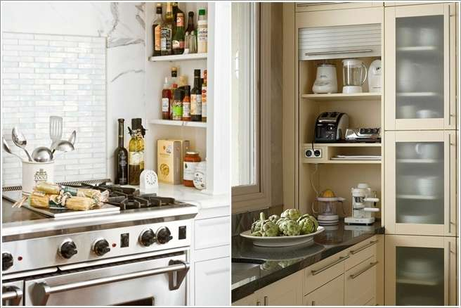 12  15 Fabulous Shelving Ideas for Your Kitchen 122