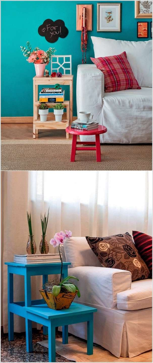 10 cool and creative side table designs for your living room