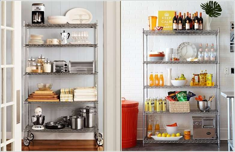 13  15 Fabulous Shelving Ideas for Your Kitchen 132