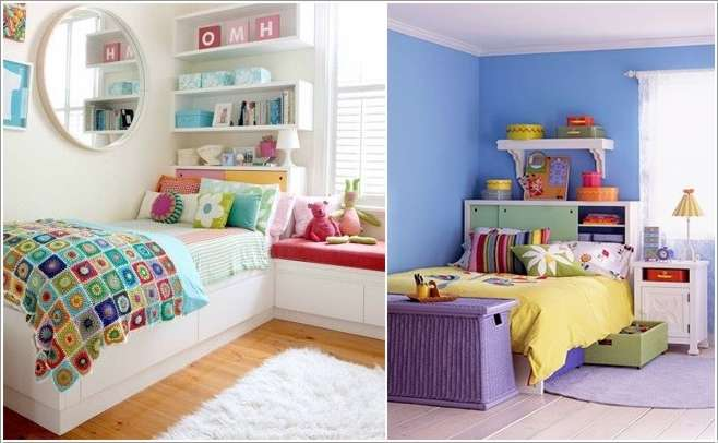 15 Cool Ideas to Add Fun to a Small Kids\' Room