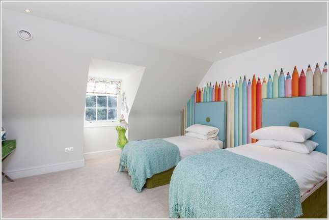 14  15 Kids' Room Accent Wall Ideas That You'll Admire 1418