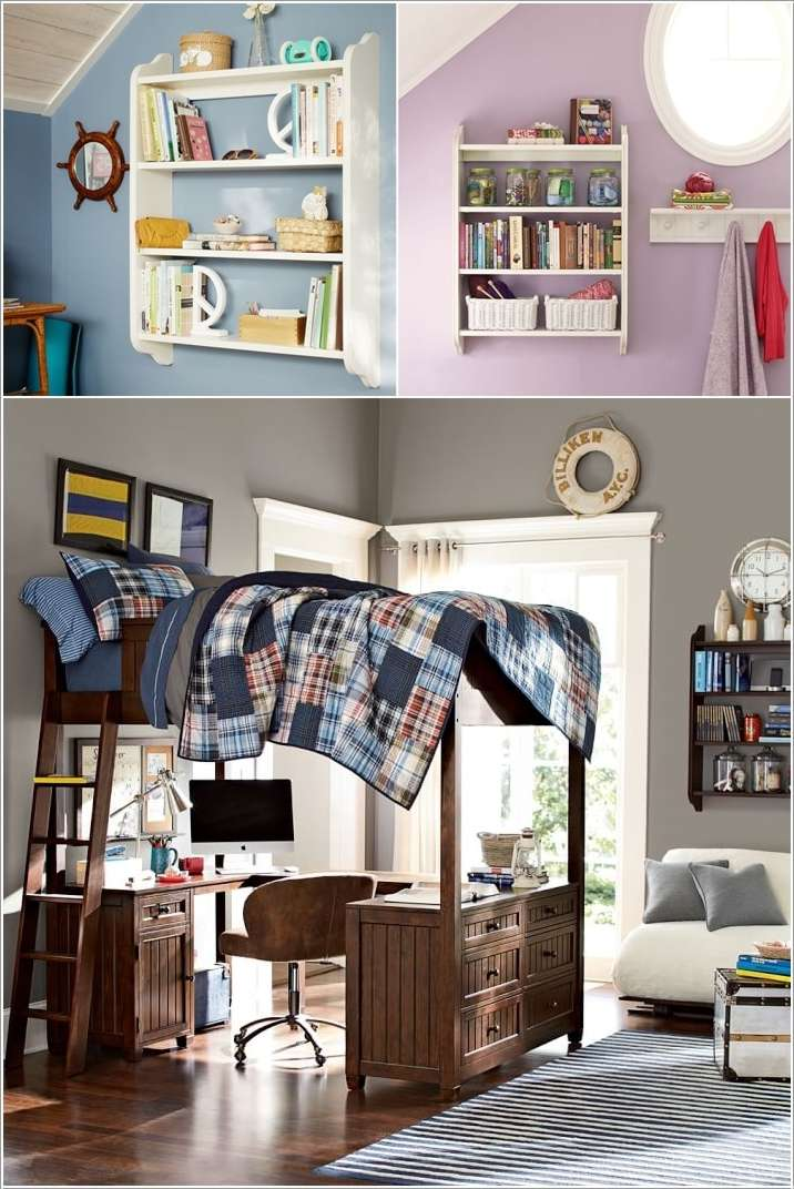 15 Lovely Teenage Bedroom Wall Decor Ideas