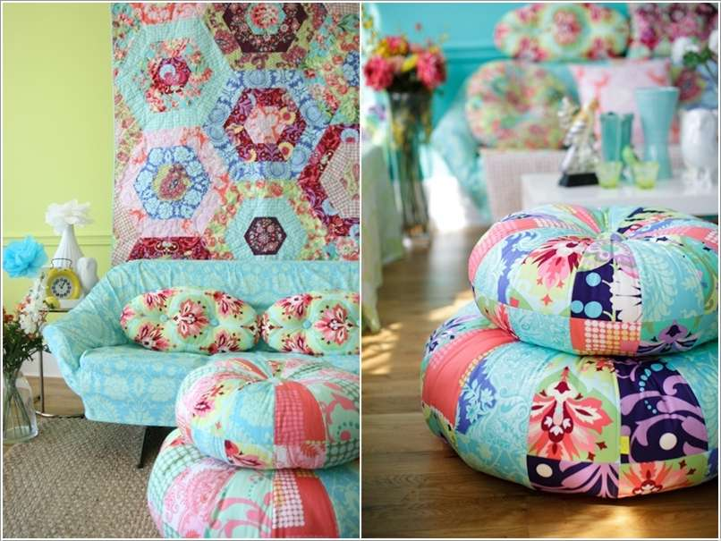 15  15 Awesome Ideas to Decorate Your Home with Patchwork 1514