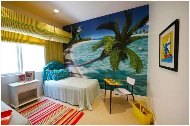 15  15 Kids' Room Accent Wall Ideas That You'll Admire 1517