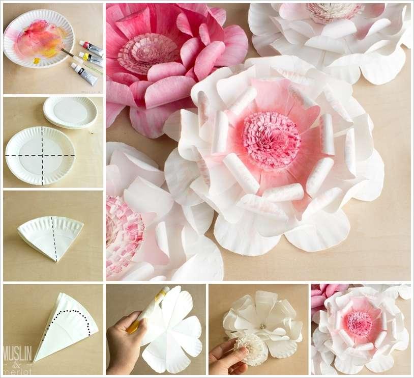 Как сделать цветок из бумаги а4 самые быстрые
