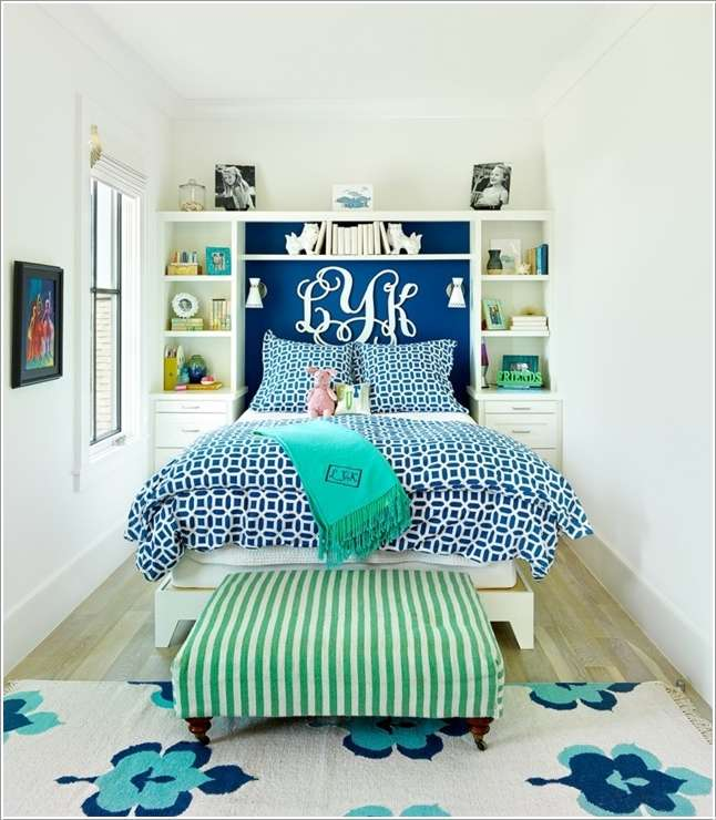 10 Cool Ways To Add Fun To A Small Bedroom