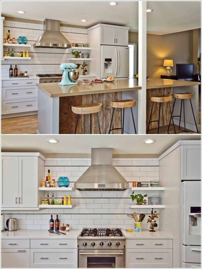 4  15 Fabulous Shelving Ideas for Your Kitchen 42