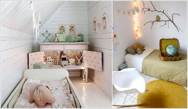 15 cool ideas to add fun to a small kids 39 room for Ideen kinderzimmer