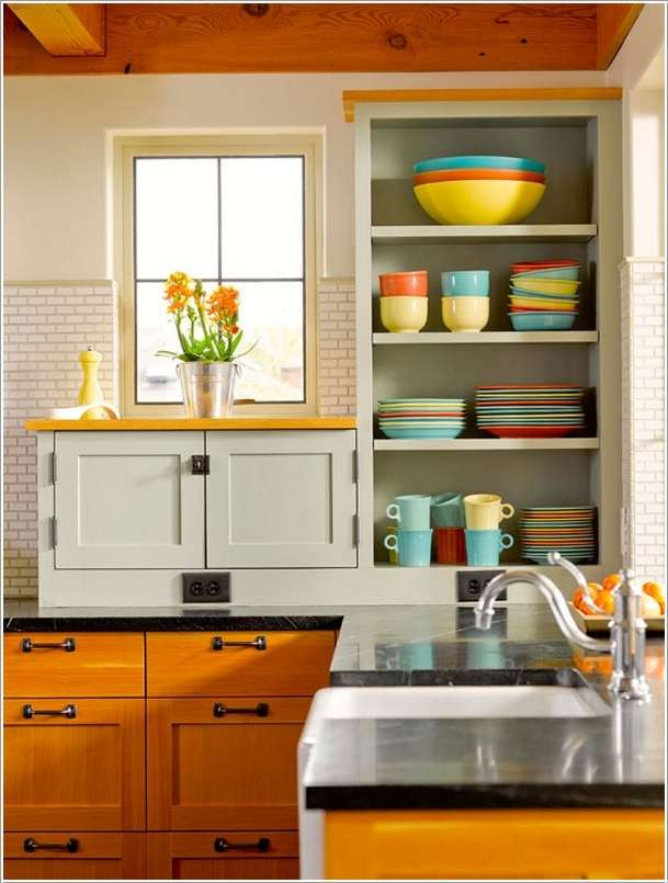 5  15 Fabulous Shelving Ideas for Your Kitchen 52