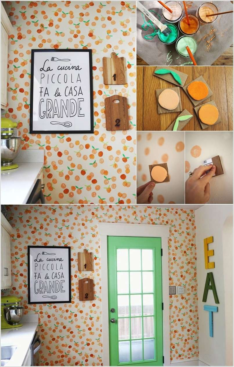7  15 Creative Ways to Decorate Your Kitchen Walls 712