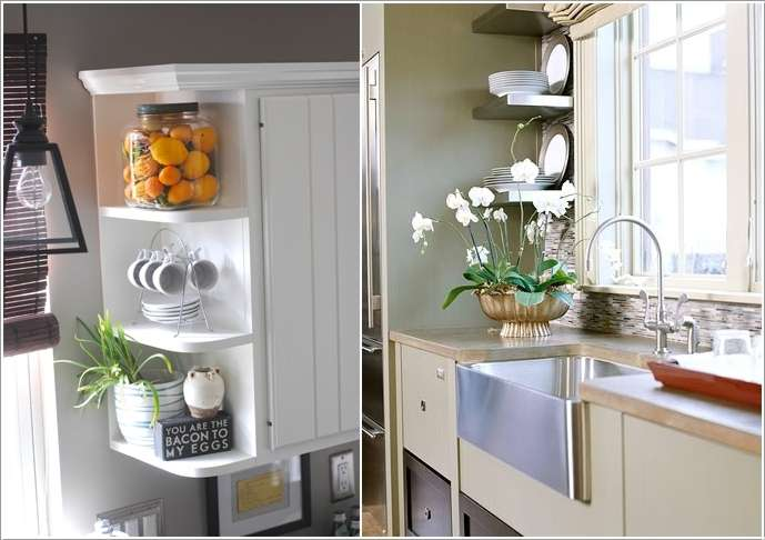 7  15 Fabulous Shelving Ideas for Your Kitchen 72