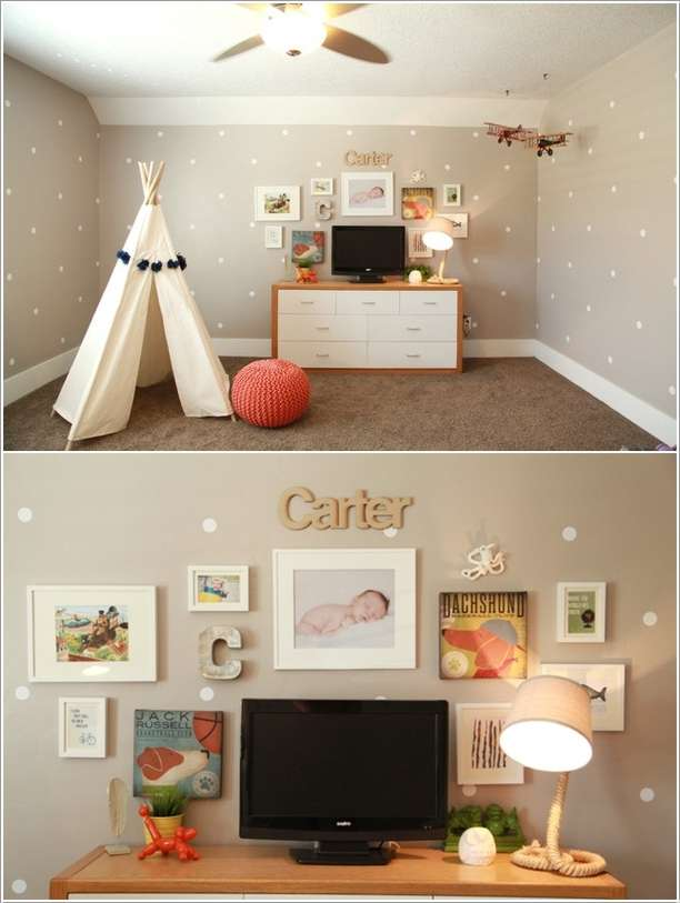 8  15 Kids' Room Accent Wall Ideas That You'll Admire 825