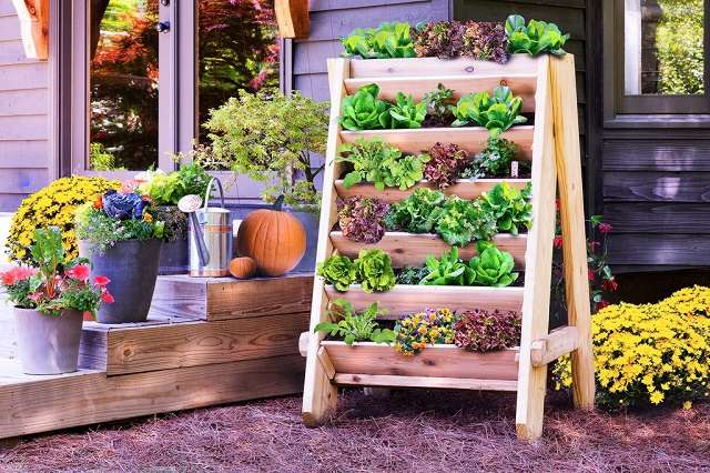 Build a Vertical Herb Planter
