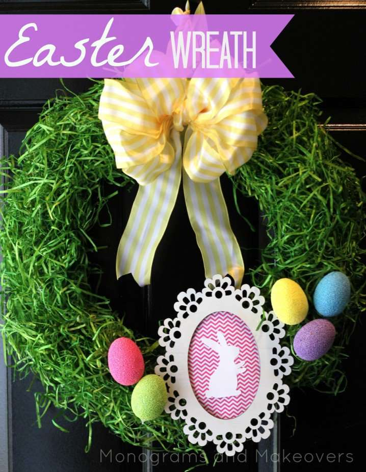Lush Easter Wreath