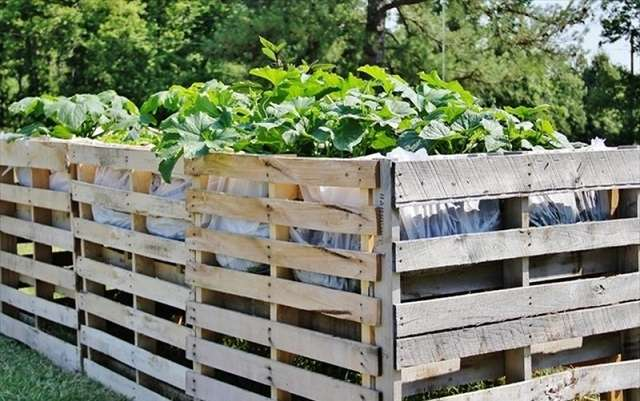 how to make fence from pallets