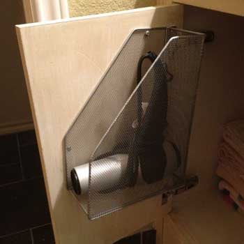 Perfect Place For the Hairdryer