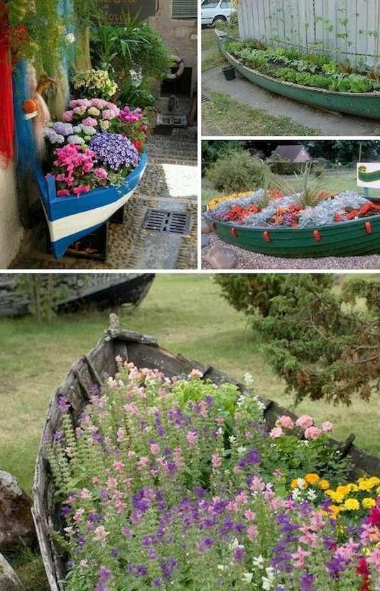 Sailboat Planter