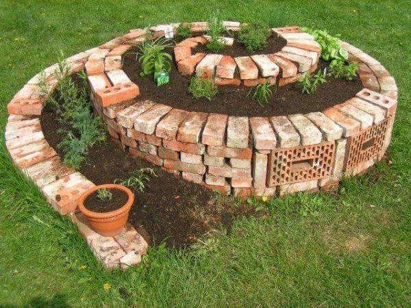 Spirial Herb Garden