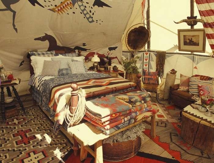 Western Boho Bedroom