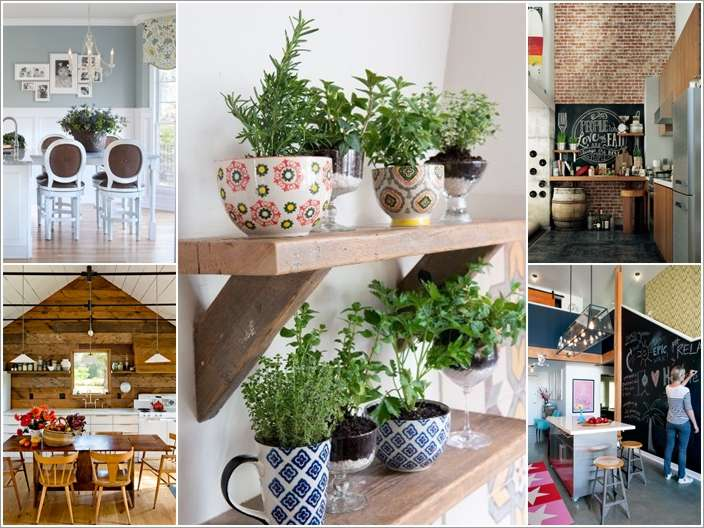 a  15 Creative Ways to Decorate Your Kitchen Walls a12