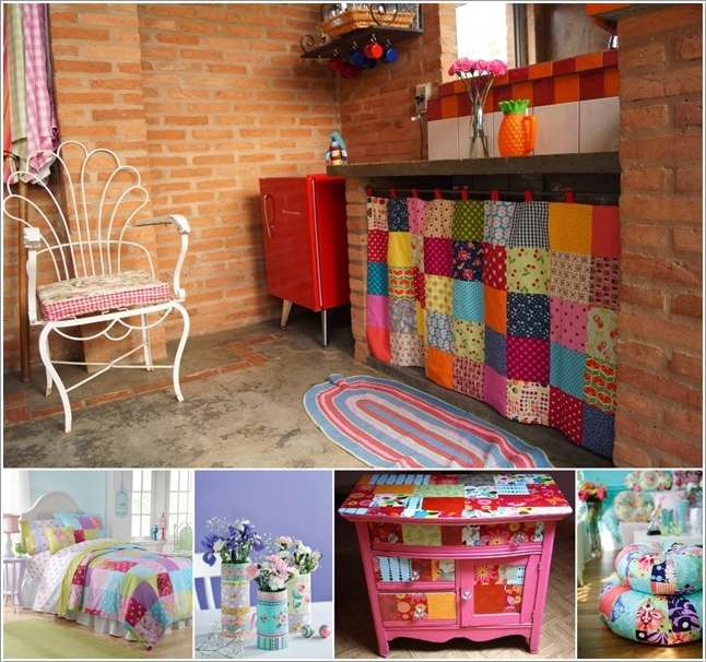 15 Awesome Ideas to Decorate Your Home with Patchwork