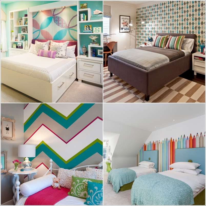 a  15 Kids' Room Accent Wall Ideas That You'll Admire a25