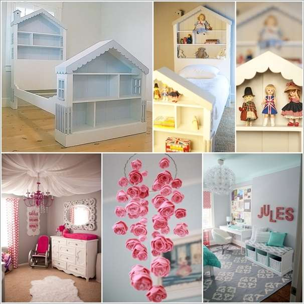 10 super cute diy ideas for your little girls 39 room. Black Bedroom Furniture Sets. Home Design Ideas