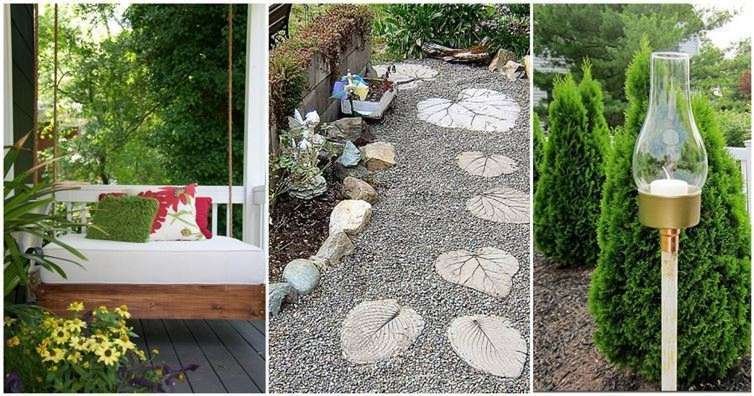 17 interesting diy backyard projects for this spring for Diy home design ideas landscape backyard