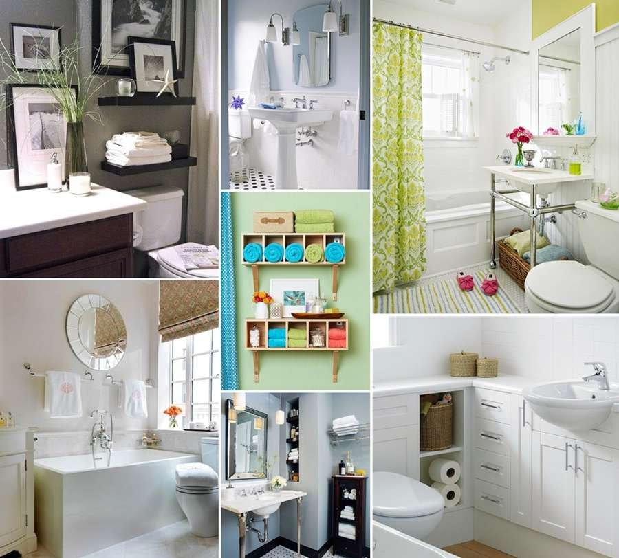 10 big ideas for a small space bathroom - Interior design blogs small spaces collection ...