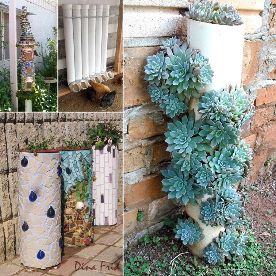 10 pvc pipe projects for your home 39 s outdoor for Pvc pipe garden projects