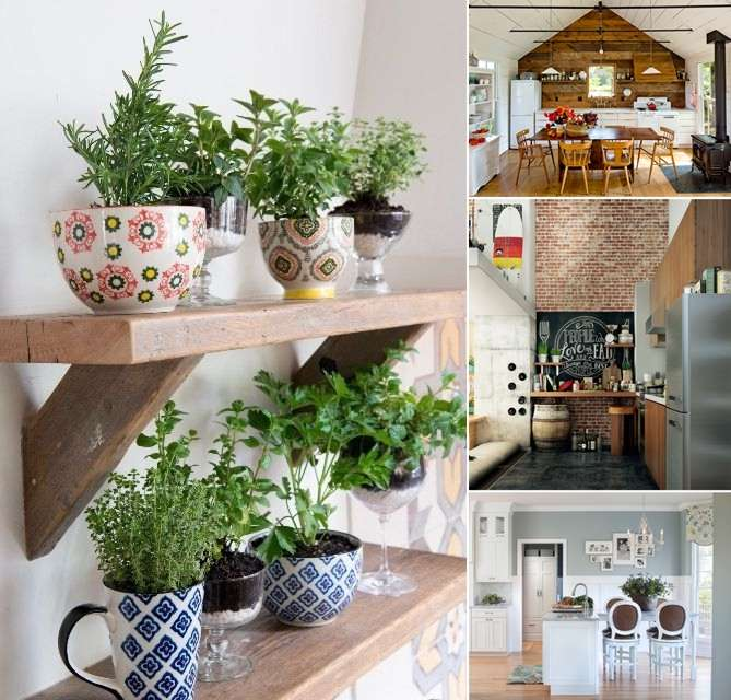 15 Creative Ways To Decorate Your Kitchen Walls