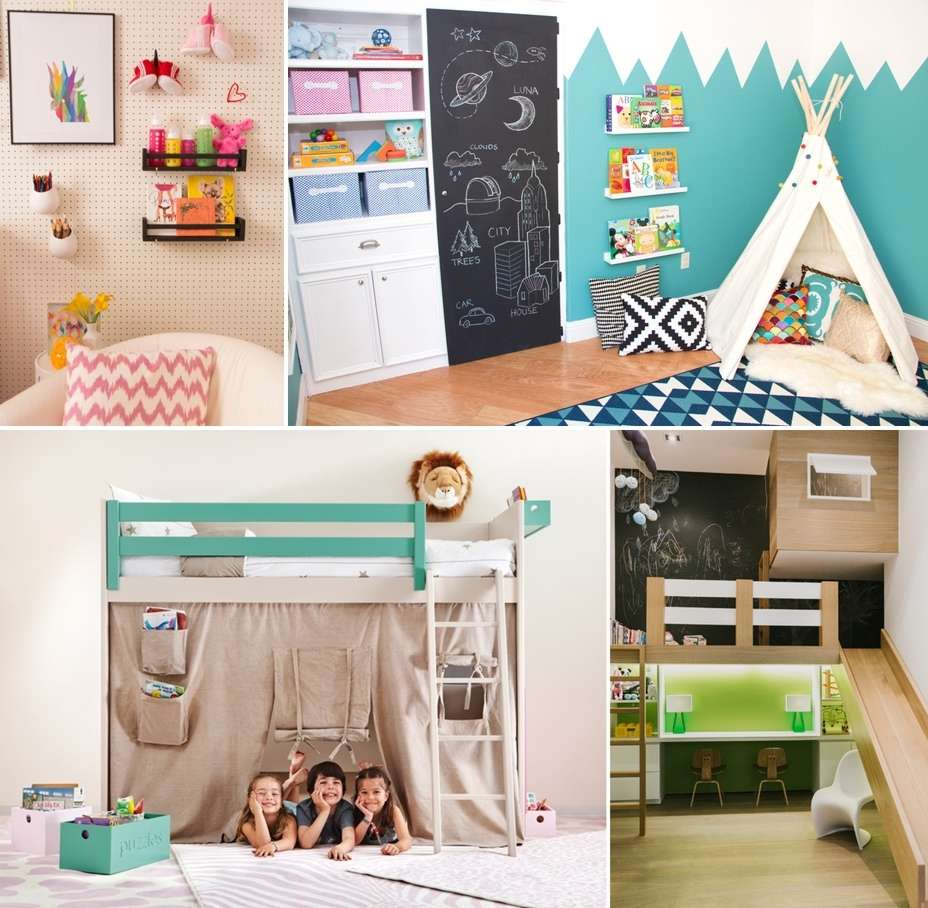 20 Creative and Colorful DIY Projects for Your Kids' Room