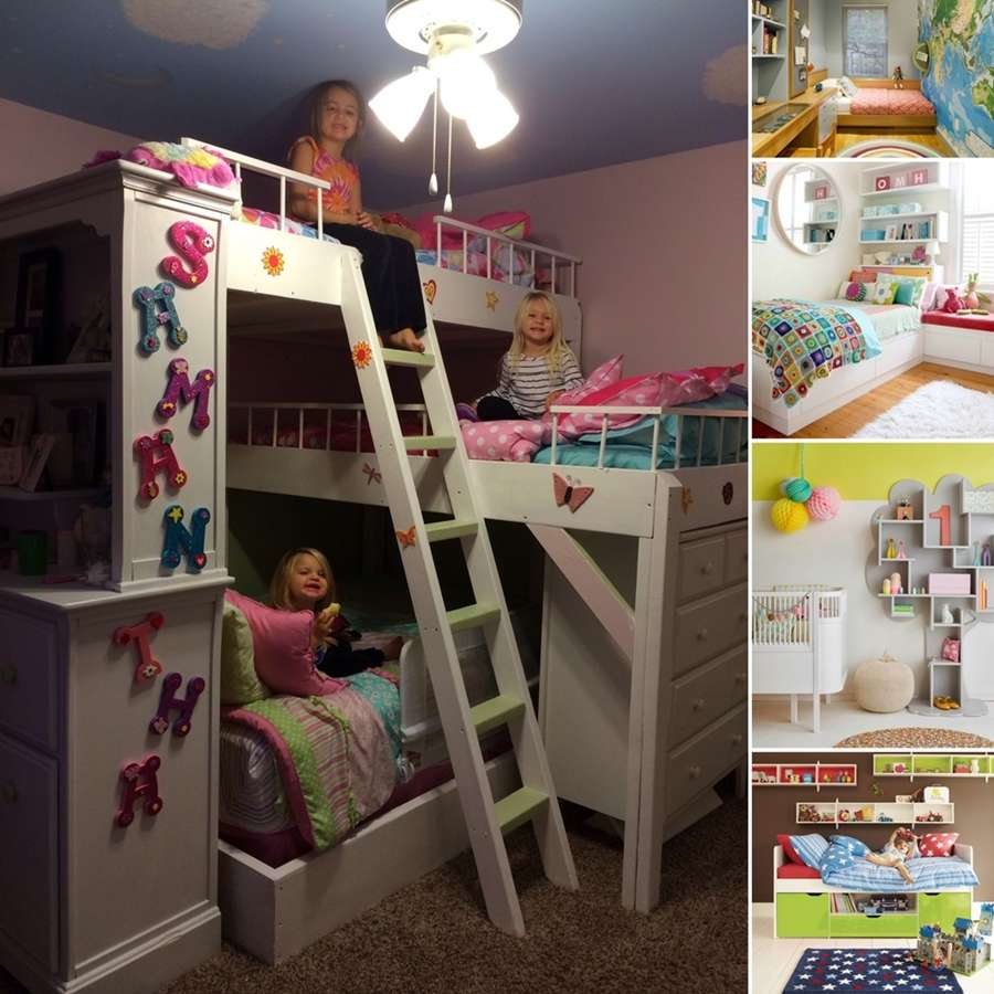 15 Cool Ideas To Add Fun To A Small Kids' Room