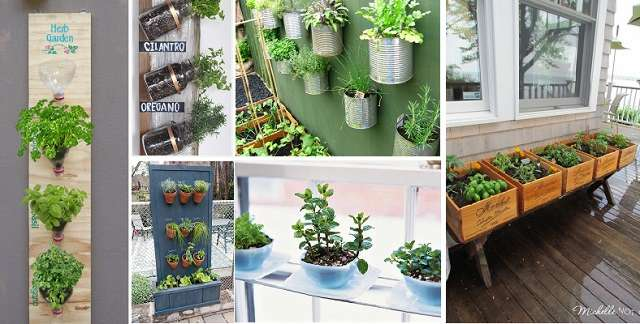 17 Amazing Herb Garden Design Ideas
