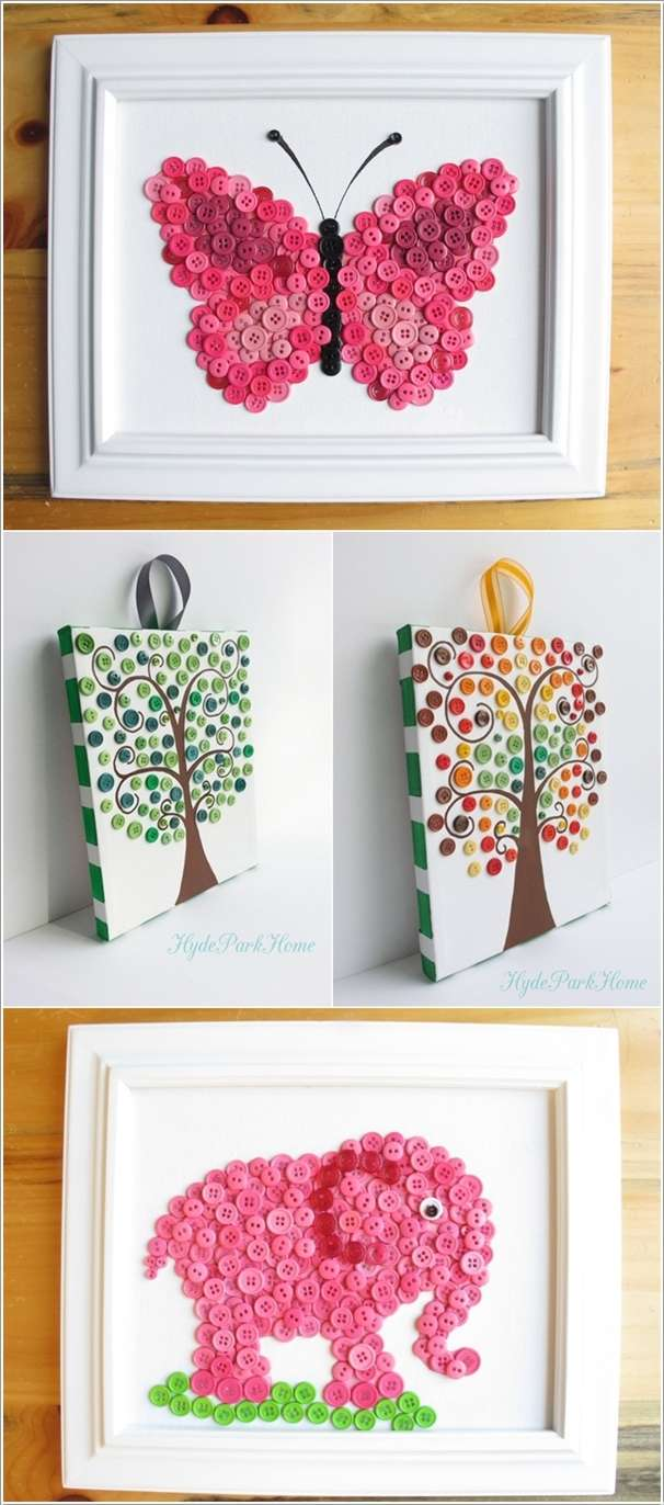 10  15 Cute DIY Home Decor Projects That You'll Love 1031