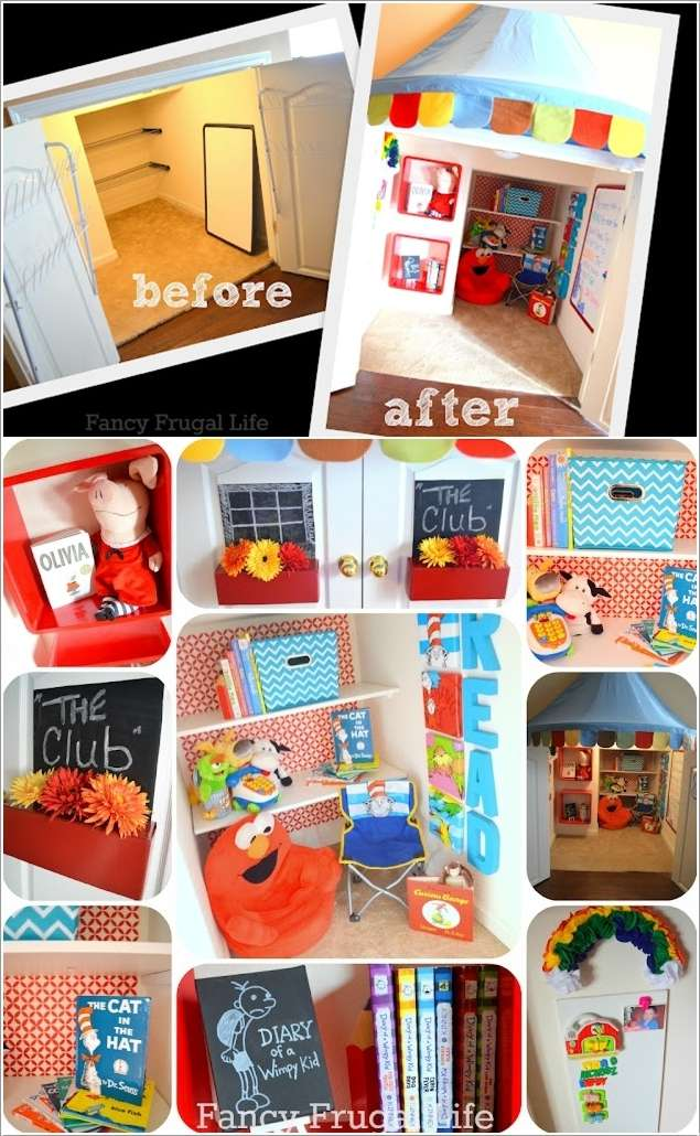 11  15 Creative Ways to Design a Reading Nook for Your Kids 1124
