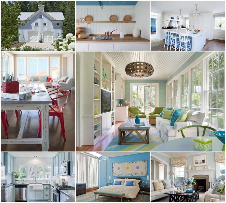 10 reasons to use sky blue in your home decor
