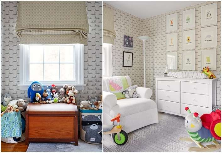 14  15 Adorable Ways to Liven Up a Nursery with Neutral Colors 141