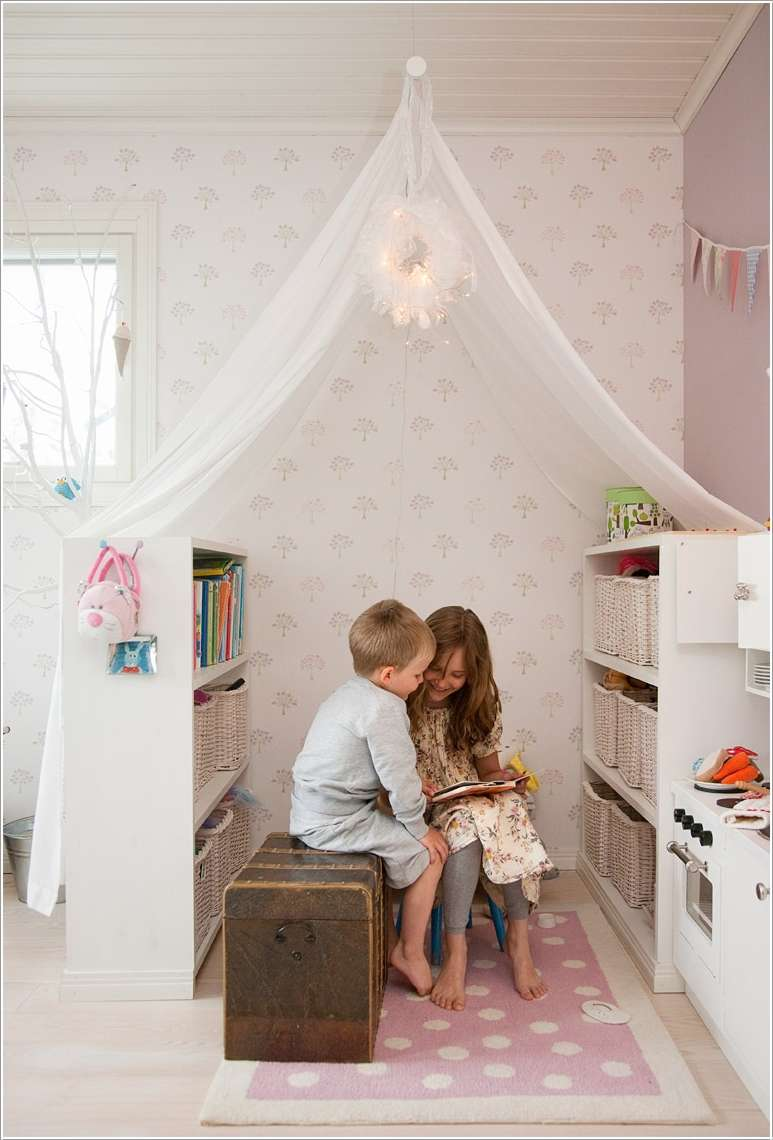 15  15 Creative Ways to Design a Reading Nook for Your Kids 1518
