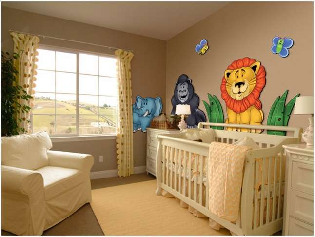 1  15 Adorable Ways to Liven Up a Nursery with Neutral Colors 16