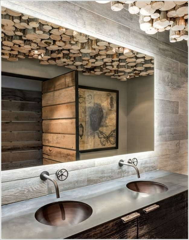 2. 15 Fabulous and Chic Bathroom Ceiling Design Ideas