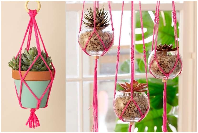 3  15 Fabulous DIY Hanging Planter Ideas for Your Home 320