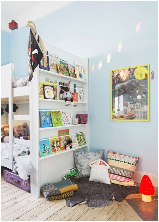 5  15 Creative Ways to Design a Reading Nook for Your Kids 526